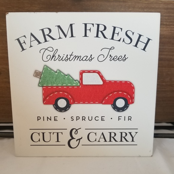 Other - Farm Fresh Christmas Trees Sign Farmhouse